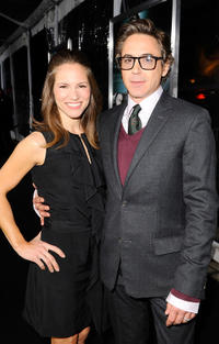 Executive Producer Susan Downey and Robert Downey Jr. at the California premiere of