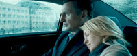 Liam Neeson and January Jones in