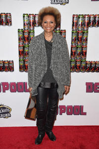 Leslie Uggams at the New York premiere of