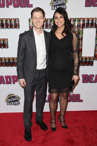 Ben McKenzie and Morena Baccarin at the New York premiere of