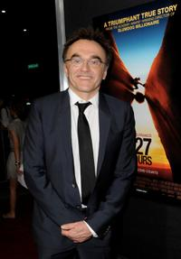 Director Danny Boyle at the California premiere of