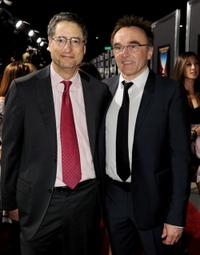 Tom Rothman and director Danny Boyle at the California premiere of