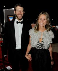 Aron Ralston and Jessica Ralston at the California premiere of