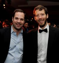 Co-producer Tom Heller and Aron Ralston at the California premiere of
