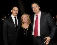 James Franco, Nancy Utley and Tom Rothman at the California premiere of