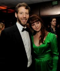 Aron Ralston and Amber Tamblyn at the California premiere of