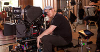 Director Jim Field Smith on set of