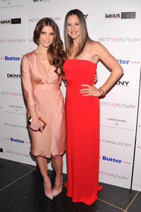 Ashley Greene and Jennifer Garner at the New York premiere of