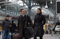 Michael Fassbender and Gina Carano in