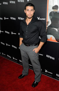 Julian Alcaraz at the California premiere of