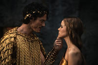 Luke Evans and Isabel Lucas in