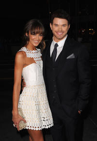 Sharni Vinson and Kellan Lutz at the world premiere of