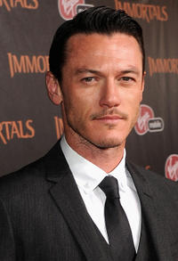 Luke Evans at the world premiere of