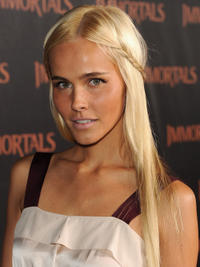 Isabel Lucas at the world premiere of