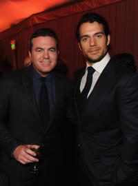 Executive Producer of Relativity Media Tucker Tooley and Henry Cavill at the after party of the world premiere of