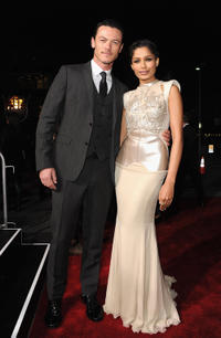 Luke Evans and Freida Pinto at the after party of the world premiere of