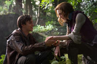 Nicholas Hoult as Jack and Eleanor Tomlinson as Isabelle in