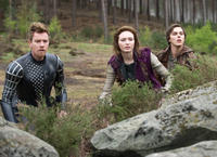 Ewan McGregor as Elmont, Eleanor Tomlinson as Isabelle and Nicholas Hoult as Jack in