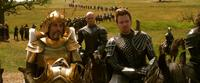 Ian McShane as King Brahmwell, Mingus Johnston as Bald and Ewan McGregor as Elmont in