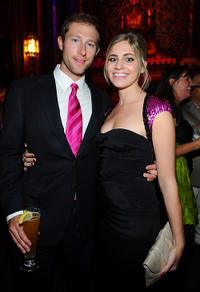 Casey Bond and Sarah Marince at the California premiere of