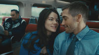 Michelle Monaghan as Christina and Jake Gyllenhaal as Colter Stevens in