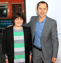 Aedin Mincks and Giovanni Ribisi at the California premiere of