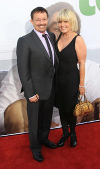 Producer Jason Clark and Guest at the California premiere of
