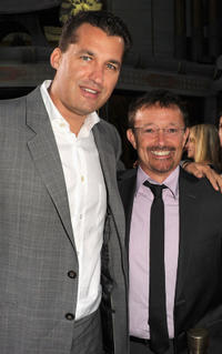 Producer Scott Stuber and producer Jason Clark at the California premiere of