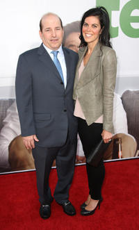 Producer John L. Jacobs and Guest at the California premiere of
