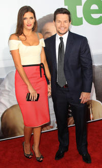 Rhea Durham and Mark Wahlberg at the California premiere of