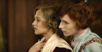 Alicia Vikander as Gerda Wegener and Eddie Redmayne as Lili Elbe in