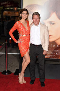 Blanca Blanco and John Savage at the California premiere of