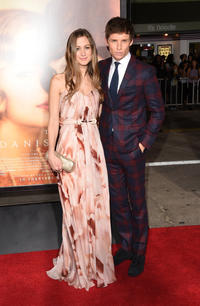 Hannah Bagshawe and Eddie Redmayne at the California premiere of