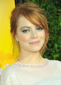 Emma Stone at the California premiere of