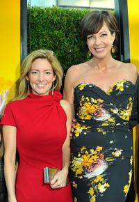 Writer Kathryn Stockett and Allison Janney at the California premiere of