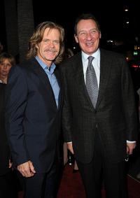 William H. Macy and producer Gary Lucchesi at the California premiere of