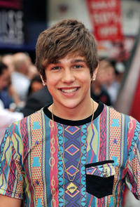 Austine Mahone at the UK premiere of