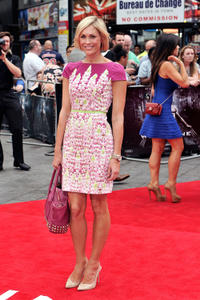 Jenni Falconer at the UK premiere of