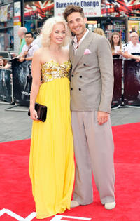 Kimberly Wyatt and Max Rogers at the UK premiere of