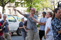 Director David Koepp on the set of