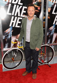 Screenwriter John Kamps at the New York premiere of