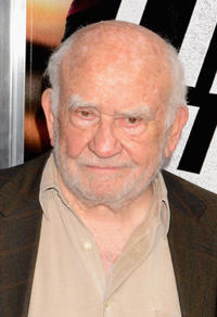 Edward Asner at the New York premiere of