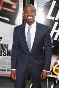 Wole Parks at the New York premiere of
