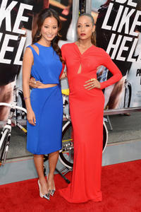 Jamie Chung and Dania Ramirez at the New York premiere of