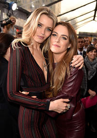 Abbey Lee and Riley Keough at the California premiere of