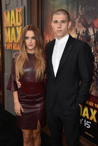 Riley Keough and Ben Smith-Petersen at the California premiere of