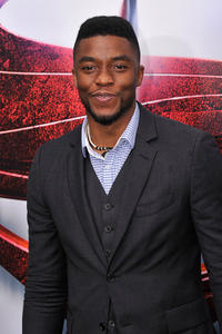 Chadwick Boseman at the