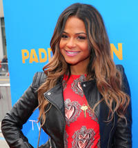Christina Milian at the California premiere of