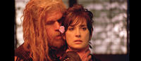 Ron Perlman as Nicola and Demi Moore as Alexandra in