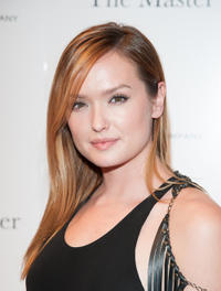 Kaylee DeFer at the New York premiere of
